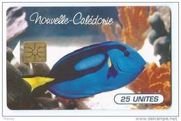 Telecarte Nouvelle Caledonie NC 36 Poisson Tropical - New Caledonia
