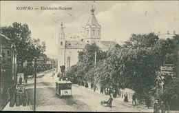AK Kowno Kaunas, Eichhorn-Strasse, O 1917 (16164) - Litauen