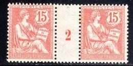 N° 125 Neuf* (Mouchon Millésime 1902):  COTE= 45 Euros !!! - Millesimi