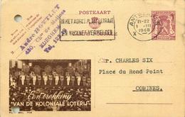 BELGIQUE ENTIER POSTAL PUBLIBEL  1948 - Enteros Postales