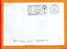 HTE SAONE, Lavoncourt, Flamme SCOTEM N° 16237, Hommage à Jules Rimet - Postmark Collection (Covers)