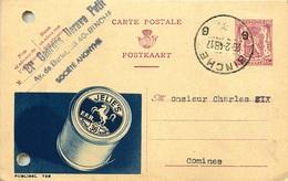 BELGIQUE ENTIER POSTAL PUBLIBEL  JELIE'S 1948 - Stamped Stationery