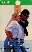 TARJETA TELEFONICA DE CHILE. Comunicación De Verdad. Pareja Joven - Couple (3rd Issue)  09/96. CL-CTC-0022A (298) - Chile