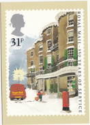Royal Mail 350 Years Of Service - Parcel Post - VAN - Letterbox - (UK) - Post