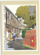 Royal Mail 350 Years Of Service - Letter Post, Mail Man &  Letterbox - (UK) - Post