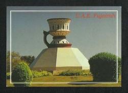 United Arab Emirates UAE Fujairah Picture Postcard Fujairah Monument  View Card - United Arab Emirates