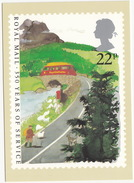 Royal Mail 350 Years Of Service - Commer Post Bus Service - (UK) - Post