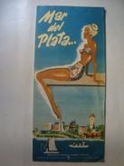 MAR DEL PLATA... - ARGENTINA, 1950. 16 PAGES. B/W PHOTOS. SPANISH TEXT. - Reiseprospekte
