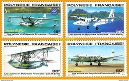 Polynésie **LUXE 1980 Pa 156 à 159 Série 4v - Ungebraucht