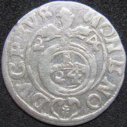 Germany Brandenburg 3 Gröscher DREIPOLKER 1624 F - Silver - [ 1] …-1871: Altdeutschland
