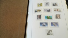 F336 ALBUM RFA 1985/1991 DANS RELIURE LEUCHTTURM A TRIER BELLE COTE DÉPART 10€ - Stamps