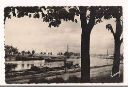 Epinay Sur Seine : Le Port - Péniches - Signé Raymon - Edit. J.Geoffroy, Epinay - Carte Neuve - - France