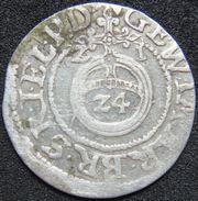 Germany Brandenburg 3 Gröscher DREIPOLKER 1621 Konigsberg Z1 F - Silver - [ 1] …-1871: Altdeutschland