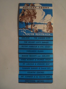 HOLIDAY TOURS IN SOUTH AUSTRALIA - 1949 APROX. 24 PAGES. B/W PHOTOS. - Toeristische Brochures