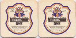 #D162-189 Viltje Hutthurmer - Beer Mats