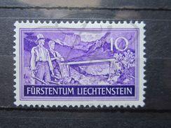 VEND BEAU TIMBRE DU LIECHTENSTEIN N° 137 , XX !!! - Liechtenstein