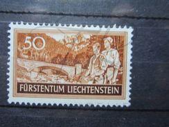 VEND BEAU TIMBRE DU LIECHTENSTEIN N° 140 , XX !!! - Liechtenstein
