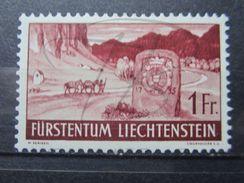 VEND BEAU TIMBRE DU LIECHTENSTEIN N° 150 , X !!! - Liechtenstein