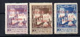 Viñetas   Nº  7/9   Vizcaya. - Verschlussmarken Bürgerkrieg