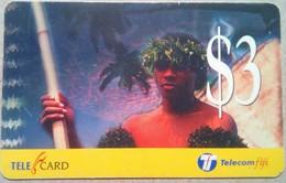 Fiji $3 Warrior - Fiji