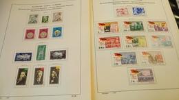 F339 GROS LOT FEUILLES SCHAUBEK DDR 1965/1976 NEUFS / OB A TRIER BELLE COTE DÉPART 10€ - Stamps