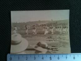 Photo - Maroc Tanger - Les Marins Du ????, Exercices De Gymnastique 1915 - Orte