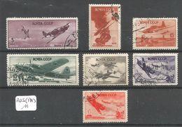 RUS (PA) YT 72/76/79/88 - Oblitérés