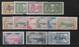 MARTINIQUE - YVERT N° 92/104 * CHARNIERE CORRECTE - COTE = 11 EUR. - Unused Stamps