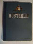 AUSTRALIA HANDBOOK - AUSTRALIAN NATIONAL TRAVEL ASSOCIATION, 1956. 127 PAGES. 7 COLOUR MAPS. - Historische Documenten