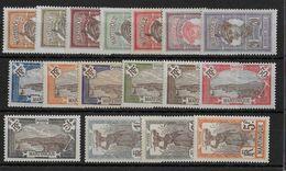MARTINIQUE - YVERT N° 61/77 * CHARNIERE CORRECTE - COTE = 38.70 EUR. - Unused Stamps