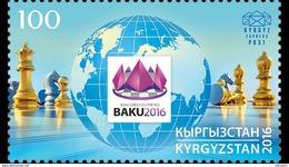 KYRGYZSTAN 2016 42nd Chess Olympiad - Kyrgyzstan