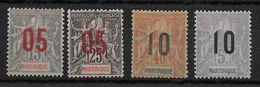 MARTINIQUE - YVERT N° 78/81 * CHARNIERE CORRECTE - COTE = 10.25 EUR. - Unused Stamps
