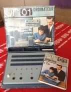 JEUX JR 01 Ordinateur L'informatique A La Portée De Tous . OSCAR D'OR Du Jouet 1970. - Electronic Games