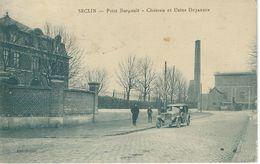 SECLIN : Petit Burgault - Chareau Et Usine Dujardin - RARE CPA - Cachet De La Poste 1925 - Seclin