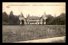 58 - NEUVILLE-LES-DECIZE - CHATEAU DU CREUSET - Sonstige Gemeinden