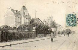 CPA - PUTEAUX (92) - Aspect De La Rue Sadi-Carnot En 1904 - Puteaux
