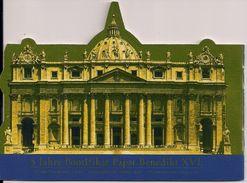 2010 Vatikan Booklet  5 Jahre Pontifikat Papst Benedikt XVI. - Vaticano