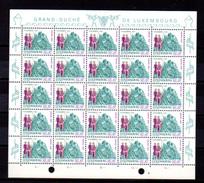 1969,      œuvres Sociales,  748 / 753**en Feuille De 25, Cote 75 €, - Feuilles Complètes