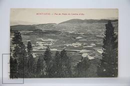 Old Postcard France - Mont Louis - Vue Des Pentes Du Cambras D'Aze - Posted 1910 - Francia