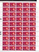 1970,    Roitelet, Sécurité Routière, 756 Et 759**en Feuille De 50, Cote 45 €, - Feuilles Complètes