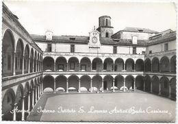 Z4831 Aversa (Caserta) - Interno Istituto San Lorenzo - Antica Badia Cassinese / Viaggiata 1963 - Aversa