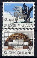 FINLANDE. - 1172/1173° - EUROPA  / ART CONTEMPORAIN - Finlande
