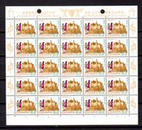 1970,  œuvres Sociales, 764 / 769**en Feuilles De 25, Cote 75 €, - Full Sheets