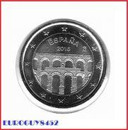 SPANJE - 2 € COM. 2016 UNC - AQUADUCT VAN SEGOVIA - Espagne