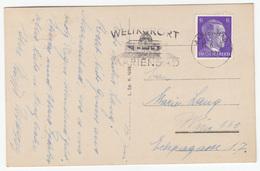 """""""Weltkurort Mareinbad"""" Slogan Postmark On Marienbad Old Postcard Travelled 1943 B170915 - Alemania"""