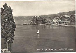 Z4844 Scilla (Reggio Calabria) - Lido Delle Sirene - Panorama - Barche Boats Bateaux / Viaggiata 1962 - Other Cities