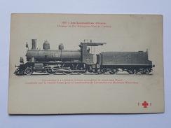 Ethiopie - Chemins De Fer Ethiopiens - Locomotive à 2 Cylindres, 6 Roues Et Avant Train Bissel Construite Par Winterthur - Ethiopie