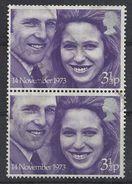 GB 1973 Royal Wedding (o) Mi.637, SG.941 - 1952-.... (Elizabeth II)