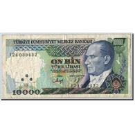 Turquie, 10,000 Lira, 1970, UNdated (1970), KM:200, TTB - Turchia