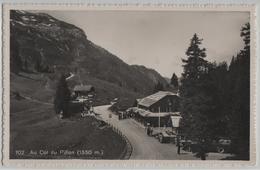 Au Col Du Pillon - Bus Oldtimer Animee - VD Vaud